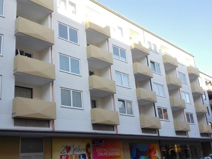 Balkon- und Fassadensanierung