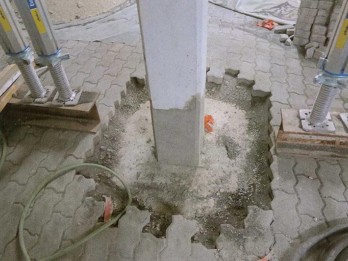 Sanierung Tiefgarage