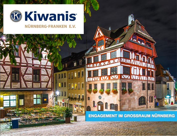 Die heinloth-Immobilienverwaltung GmbH engagiert sich über Konfessionen hinweg für das Kinderwohl mit Kiwanis!