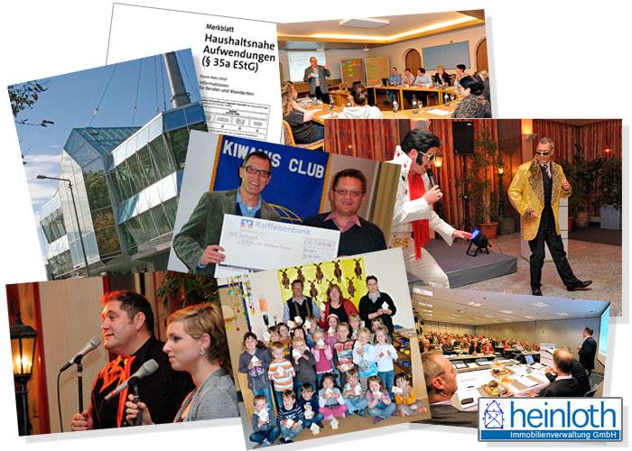 Neues und Archiviertes von heinloth-Immobilien GmbH